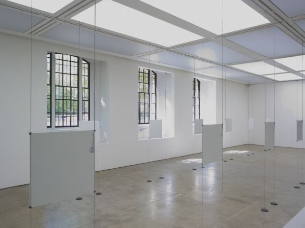 Installation view of Bruce Nauman's Days, ICA. Photographer: Stephen White. Courtesy of the Institute of Contemporary Arts, London.